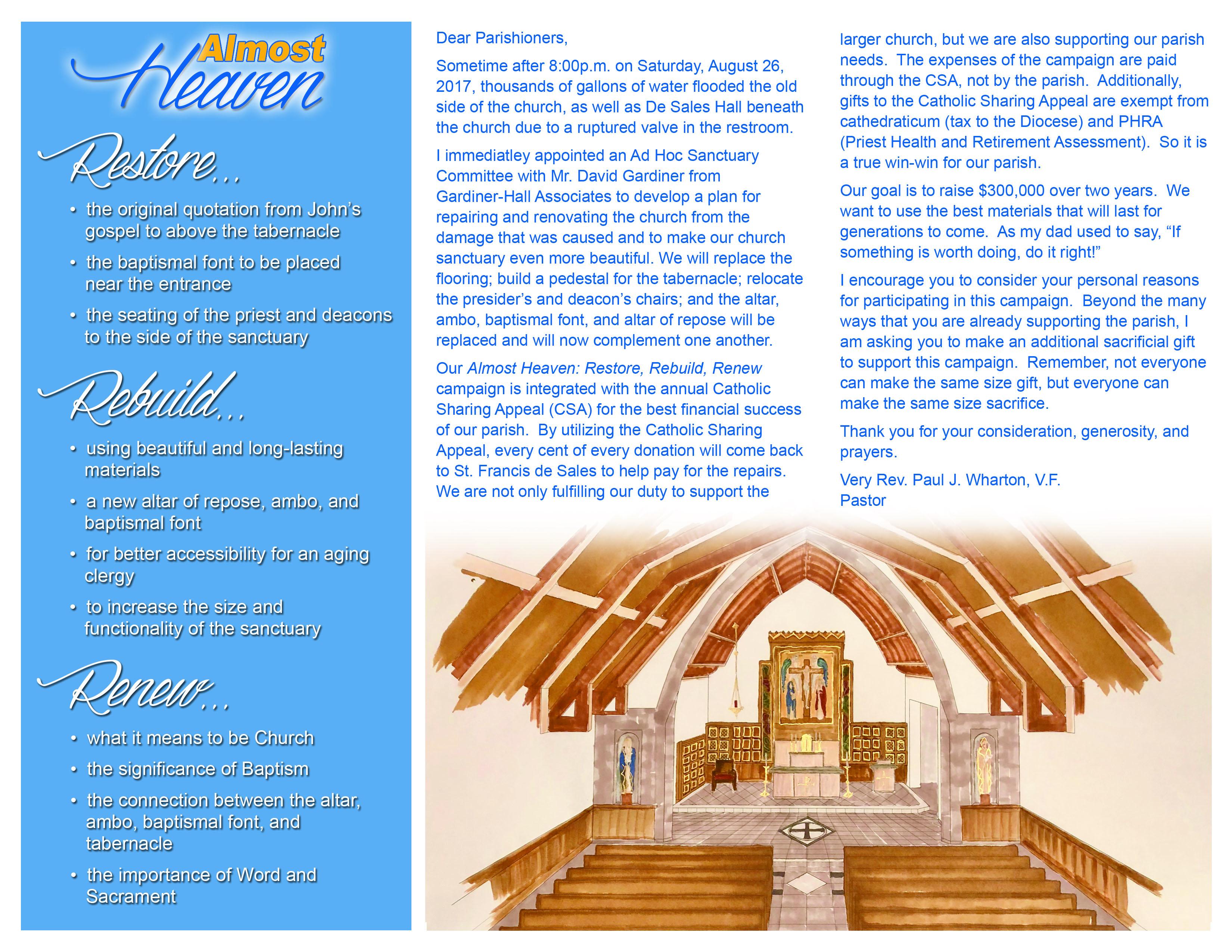 Build Campaign Brochure