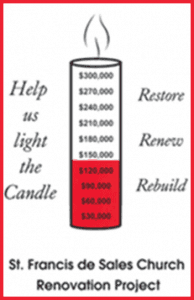 candle fundraiser icon