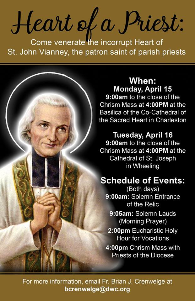 Heart of a Priest Pilgrimage & Chrism Mass