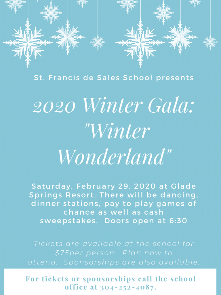 winter gala invitation