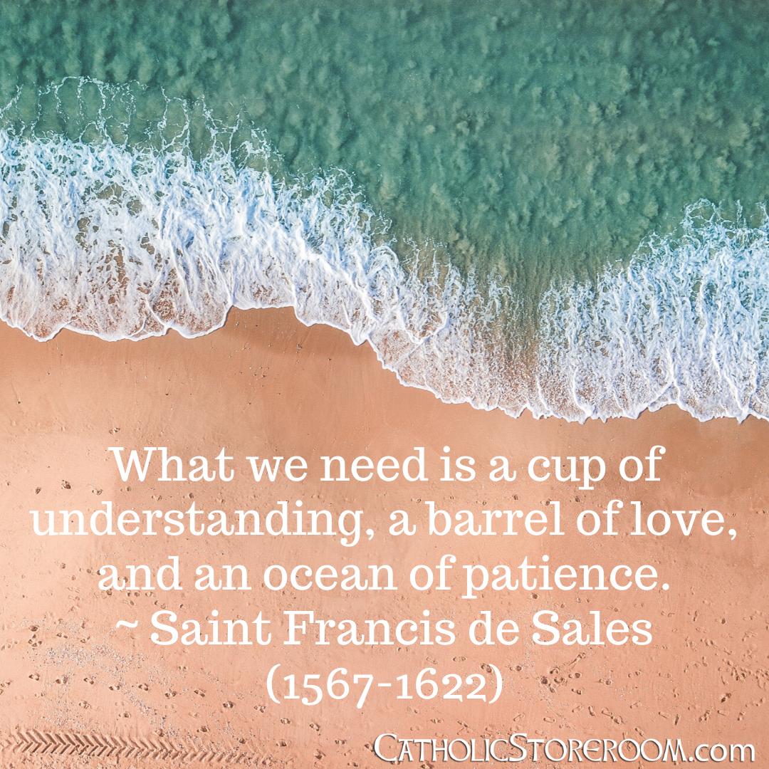 Ocean of patience