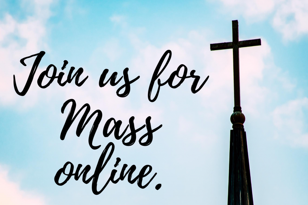Join us for Mass graphic